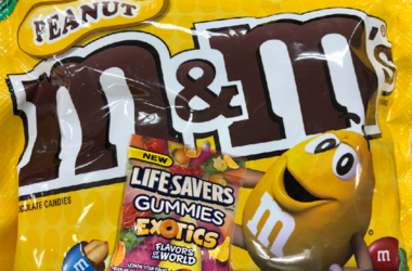 Peanut M&M's vs. Life Savers Gummies