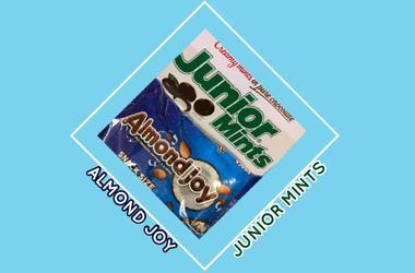 Almond Joy vs Junior Mints