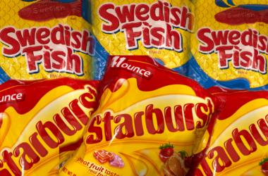 Starburst vs Swedish Fish