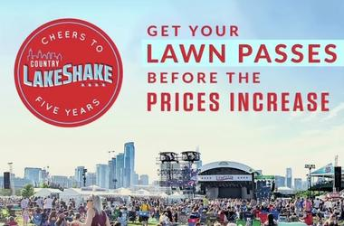 LakeShake lawn increase