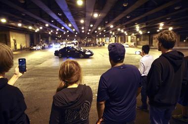 Chicago's Lower Wacker Drive