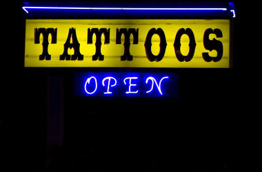 Tattoo Sign