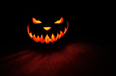 Spooky pumpkin