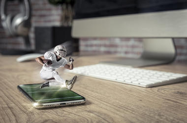 Football and iPhone