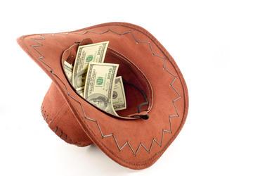 Money In A Cowboy Hat