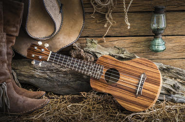 Boots Hat Guitar