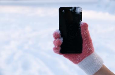 Phone Snow