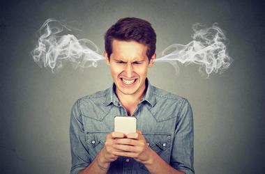 Angry Smartphone