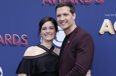 Walker Hayes & his wife Laney
