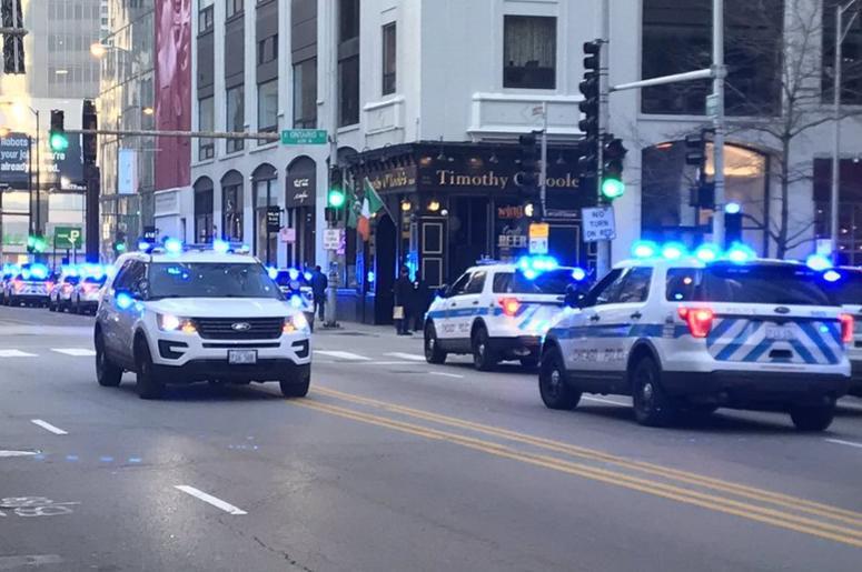 Off-Duty CPD officer killed in River North