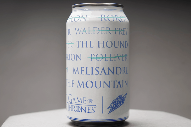 Game of Thrones Mountain Dew