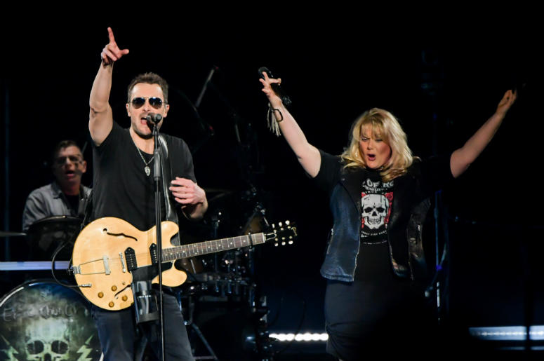 Eric Church and Joanna Cotten