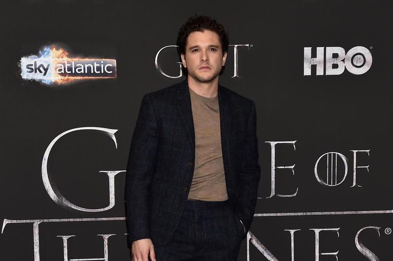 Kit Harington attends the 'Game of Thrones' Season 8 screening at the Waterfront Hall on April 12, 2019 in Belfast, Northern Ireland.