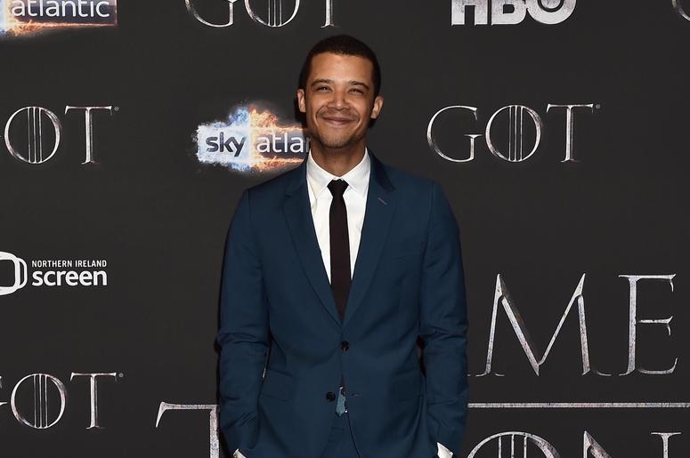 Jacob Anderson attends the 'Game of Thrones' Season 8 screening at the Waterfront Hall on April 12, 2019 in Belfast, Northern Ireland.