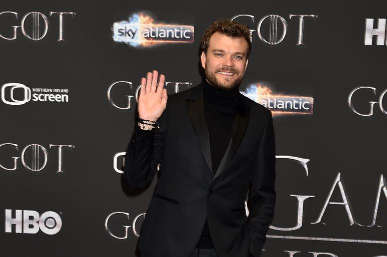 Pilou Asbæk attends the 'Game of Thrones' Season 8 screening at the Waterfront Hall on April 12, 2019 in Belfast, Northern Ireland.