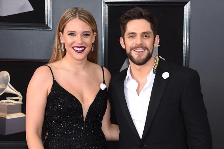 Thomas Rhett and Lauren