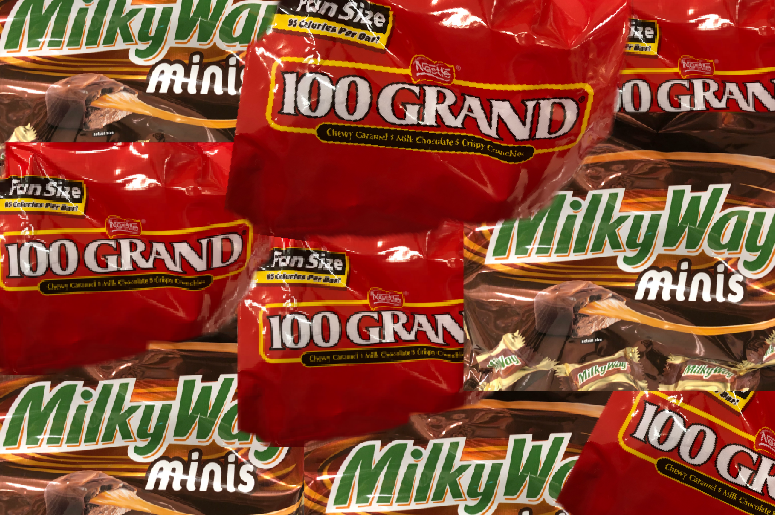 100 Grand vs Milky Way