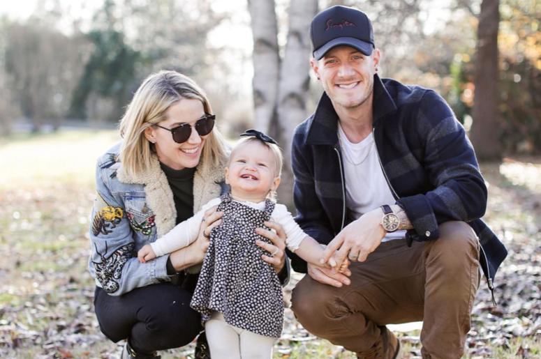 Hayley, Olivia Rose & Tyler Hubbard