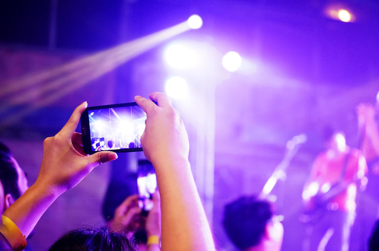 Cellphone at Concert