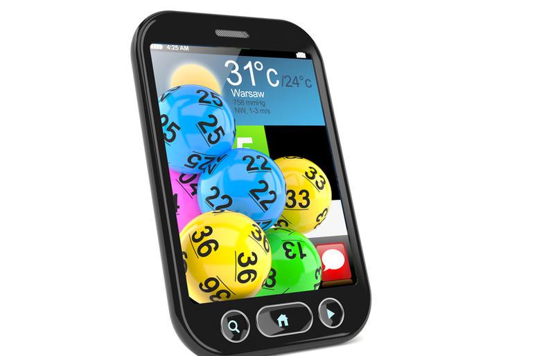 Cellphone Lottery Balls