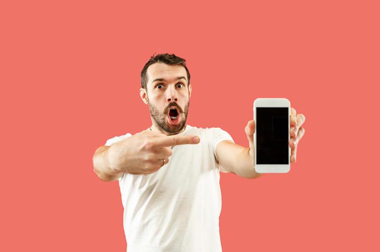 Shocked Smartphone