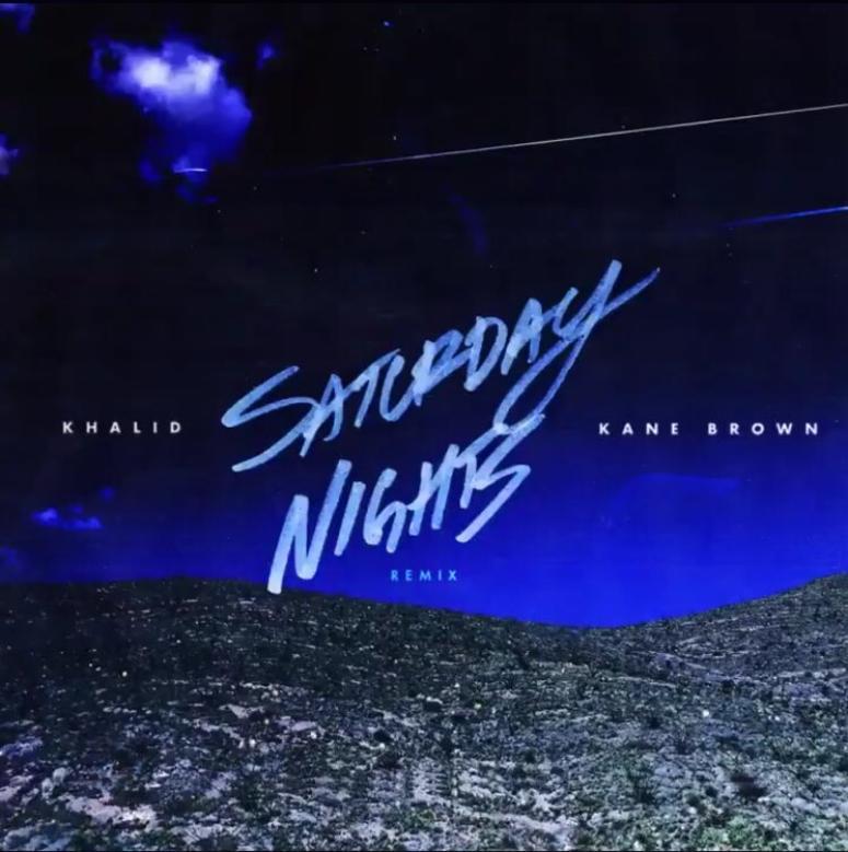 "Khalid feat. Kane Brown ""Saturday Nights"" remix"