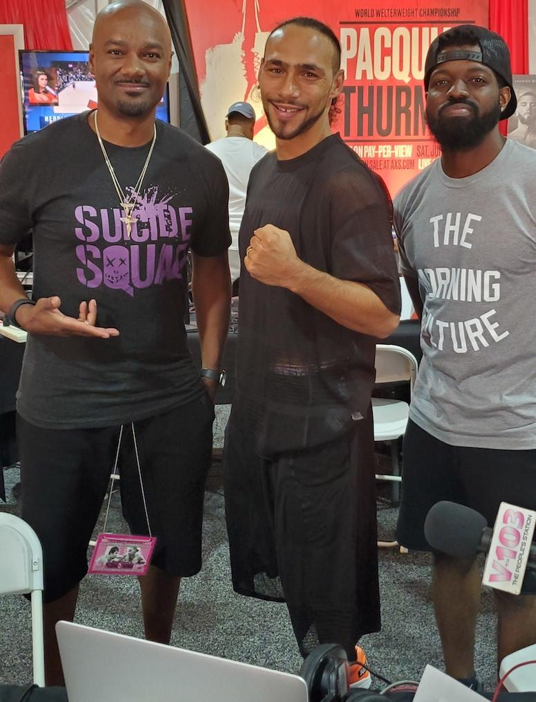 Keith Thurman Big Tigger and JR