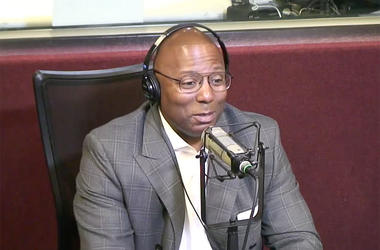 Dr. Gregory Lunceford visits V-103's Frank and Wanda In The Morning