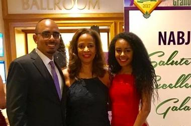 Marsha Edwards (m) is shown in a social media photo with daughter Erin and son Chris