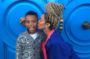 Jade Novah and her son Marsean