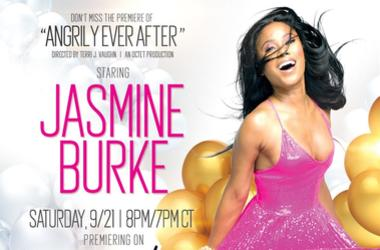 "Atlanta native Jasmine Burke stars in ""Angrily Ever After"" on BET and BETher"