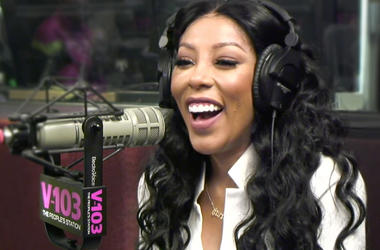 K Michelle In Studio With The Morning Culture