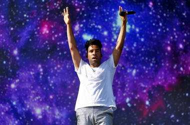 SuperDuperKyle (KYLE) performs onstage during the 2018 Coachella Valley Music And Arts Festival at the Empire Polo Field on April 20, 2018 in Indio, California.