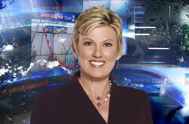 WSB-TV meteorologist Karen Minton