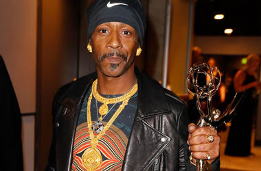 Katt Williams behind the scenes during the 70th Emmy Awards at the Microsoft Theater