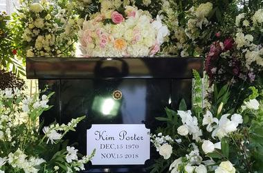 Kim Porter was laid to rest in her hometown of Columbus, GA on Saturday, Nov. 24, 2018