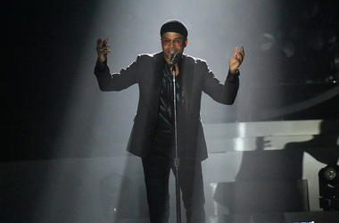 Maxwell performed at the Hard Rock Event Center in Hollywood, Florida on October 16, 2018.