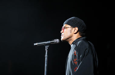 Maxwell performing at V-103 LIVE on Saturday, March 30, 2019, at State Farm Arena in Atlanta