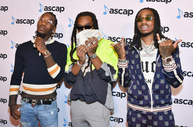 Offset, Takeoff and Quavo of Migos attend the 31st Annual ASCAP Rhythm & Soul Music Awards