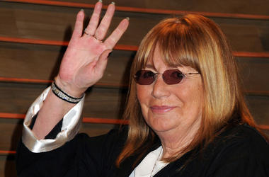 Penny Marshall at the 2014 Vanity Fair Oscar Party following the 86th Academy Awards held at Sunset Plaza