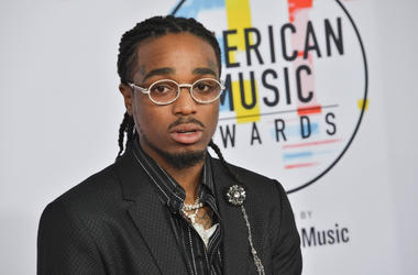 Quavo at the 2018 American Music Awards held at Microsoft Theater on October 09, 2018 in Los Angeles, CA, USA