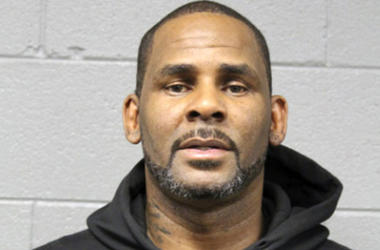 R. Kelly's mugshot from the Chicago Police Department