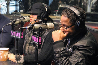 """The parents of Jocelyn Savage talk """"Surviving R. Kelly"""" and missing their daughter with V-103's Frank Ski"""