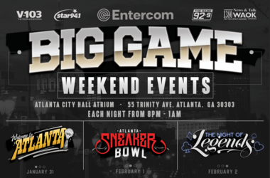 V-103's Big Game Weekend Events