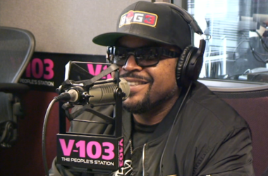 Ice Cube In Studio With Big Tigger