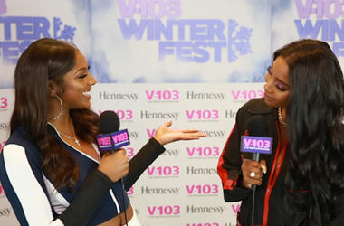 Sevyn Streeter Backstage At Winterfest 2018