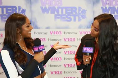 Sevyn Streeter Backstage At Winterfest 2018