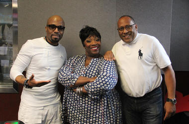 Teddy Riley on V-103's Frank and Wanda In The Morning