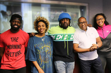 Wale In Studio With The Morning Culture