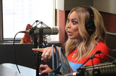 Wendy Williams visits V-103 in 2018